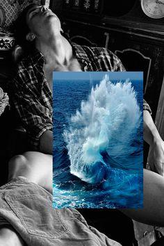 Empezó a experimentar con el collage digital para evadirse, pero en dos años su trabajo ha calado hondo en la retina de miles de personas.