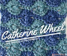 Free Crochet Stitch Tutorial: Catherine Wheel