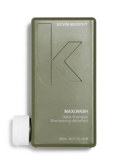 MAXI.WASH  A detoxifying shampoo that breaks down fatty acids for a clean, clear scalp. The balancing essential oils penetrate the scalp to brighten hair and purify an oily or flaky scalp. It contains anti pollutant ingredients that remove build-up of unwanted products and chemicals.