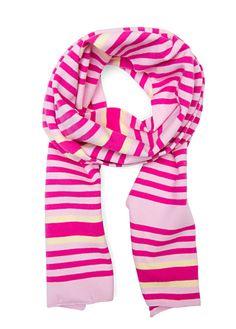 MANGO - Striped scarf