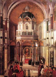 BELLINI, Gentile Italian Early Renaissance (ca.1429-1507)_The Healing of Pietro dei Ludovici (1501)