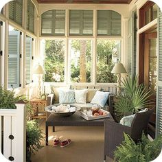 my kind of screened in porch