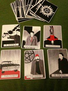Tarot Supernatural Cards...on etsy