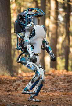 A Plan in Case Robots Take the Jobs. This walking robot can lift and carry heavy objects while working in snowy and uneven grounds, perfect for helping farmers or construction workers. Robot Technology, Futuristic Technology, Futuristic Design, Robot Humanoïde, Drones, Boston Dynamics, Real Robots, Humanoid Robot, Mechanical Design