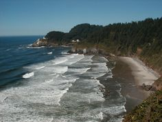 Oregon coast near Florence, Oregon