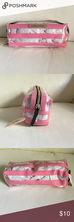 Victoria's Secret cosmetic/brush pouch Brand new, never used. Price firm. Can do $8 on ♏️ercari. Happy shopping! 💗 Victoria's Secret Bags Cosmetic Bags & Cases