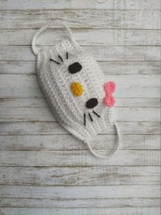 Crochet Mask, Crochet Faces, Crochet Fabric, Crochet Amigurumi, Crochet Girls, Crochet Gloves, Knit Crochet, Crochet Patterns, Crochet Baby Bikini