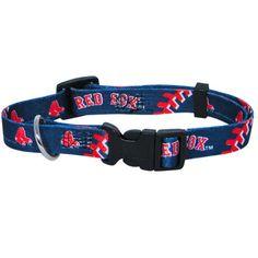 Boston Red Sox MLB Licensed Dog Collar