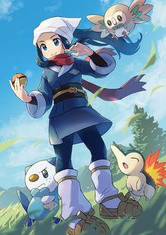 Pokemon Team, First Pokemon, Nintendo Pokemon, Pokemon Special, Pokemon Fan Art, Cool Pokemon, Pikachu, Pokemon People, Original Pokemon