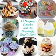 Gorgeous, Easy Cupcakes