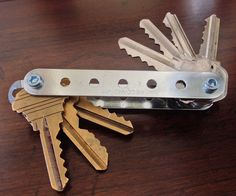 DIY KeySmart/Key Organizer : 5 Steps (with Pictures) - Instructables Lego Key Holders, Mason Jar Shelf, Key Diy, Key Storage, Key Organizer, Pinterest Diy, Dremel, Diy Organization, Organizing