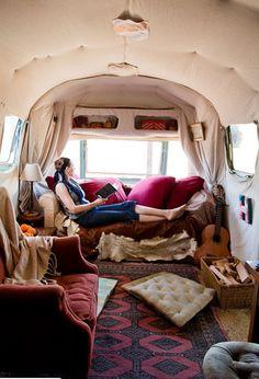 caravan, air streame