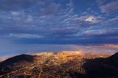Mother City Nightfall by Hougaard Malan on 500px