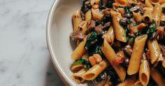 Penne Pasta, Pasta Salad, Desi Masala, Orzo, Kombucha, Kung Pao Chicken, Japchae, Meat, Ethnic Recipes