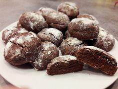 crinkles au chocolat ou biscuits au chocolat craquelés