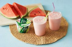 Food Science Japan: Morinaga Aloe Yogurt Strawberry Smoothie
