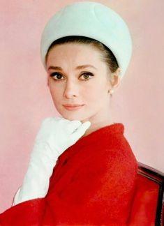 Audrey Hepburn, 1962.