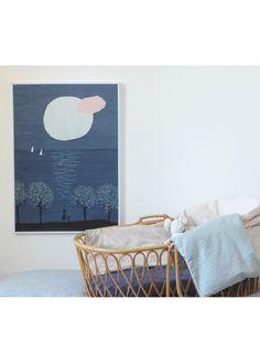 Marika Maijala - Poetic Illustration Art Print for a Kid's Room