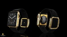 Goldgenie's Luxury Customised Apple Watch Spectrum Collection is available to order at: http://www.goldgenie.com/24k-gold-apple-watch.php