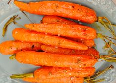 Maple Roasted Carrots with Fennel Seeds (vegan, Thanksgiving)