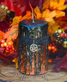 Samhain candle by Etsy.
