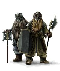 Dwarven light infantry