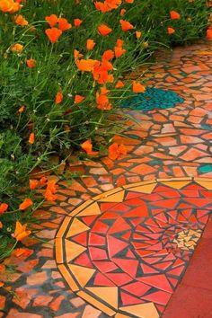 Custom Made Mosaicby Kathy Richardson Designs. I w...