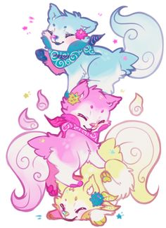 For 's contest being held here: eternalwallflower.deviantart.c… I just love these little guys, they're too dang cute.