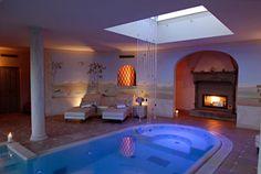 Emotional spa at Il Falconiere