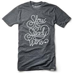 SLOW & STEADY (HEATHER BLACK)