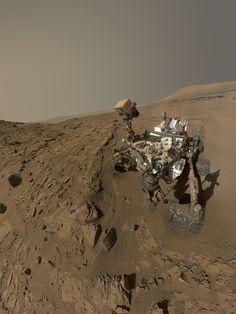 Curiosity Self-Portrait at 'Windjana' Drilling Site | NASA