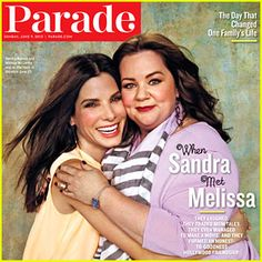 Sandra Bullock & Melissa McCarthy Cover 'Parade'