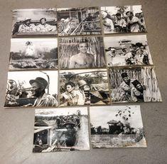11 PHOTOS D'EXPLOITATION : LE FACTEUR S'EN VA T'EN GUERRE de AZNAVOUR, GALABRU | eBay First Indochina War, Photo Wall, Frame, Photos, Ebay, Decor, The Letterman, War, Pictures