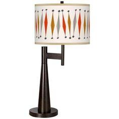 Tremble Giclee Novo Table Lamp -