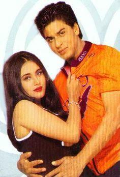 Kuch kuch hota hai Kuch Kuch Hota Hai, Madhuri Dixit, Sweet Couple, Bollywood Actors, Shahrukh Khan, Celebrity Couples, Actors & Actresses, Ronald Mcdonald, Romance