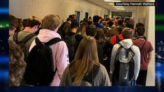 Georgia student suspended after posting a photo of a crowded school hallway says it was 'good and necessary trouble' School Hallways, High School, School S, Georgia, Crowd, Bless The Child, Heres To You, Teen Photo, Student