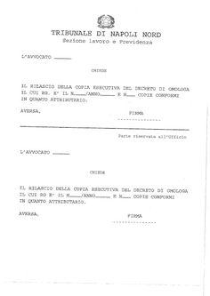 Studio Legale Buonomo - Diritto Previdenziale ed Assistenziale: Tribunale di Napoli Nord in Aversa: nuovi modelli ...