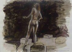 Στην Πινακοθήκη Γρηγοριάδη (Μαρίνου Αντύπα 18, Νέο Ηράκλειο) η έκθεση του Κυριάκου Κατζουράκη, έως τς 31 Μαΐου  2013 Painting, Art, Art Background, Painting Art, Kunst, Paintings, Performing Arts, Painted Canvas, Drawings