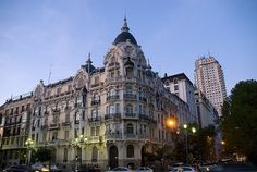 Palace at the beginning of Ferraz' Street (Madrid, Spain) | Flickr - Photo Sharing!