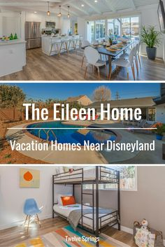 Beautiful and affordable vacation home near Disneyland.   The Eileen Home by Twelve Springs is a 6 bedroom, 4 bathroom resort with a pool and outdoor grill.
