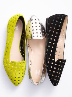 2b56fcec6f Perforated Almond-toe Loafer - VS Collection - Victoria s Secret Dream  Shoes