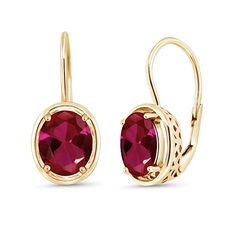 So So Cute New Silver Plated Ruby Red CZ Kitten Cat Dangle Drop Earrings