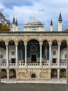 Tiled Kiosk at Istanbul Archaeology Museum, Istanbul, Turkey