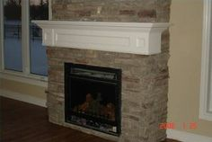 Wood Mantels for Stone Fireplaces | How to Install a Wood Mantel Shelf for a Stone Fireplace thumbnail