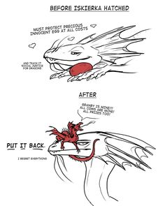 A doodle inspired by Annicron's drawing of Iskierka that I coudln't get out of my head because this is pretty much the entire latter part of Black Powder War.<<<<<I love thisXD Mythological Creatures, Fantasy Creatures, Mythical Creatures, Wings Of Fire Dragons, Cute Dragons, Dragon Comic, Dragon Artwork, Creature Drawings, Cute Comics