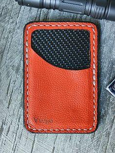 Leather Front Pocket Wallet-Lined w/Carbon Fiber http://www.vvego.com/product/vvault-wallet/
