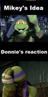Mikey-first I was like by ~SkyhighImagination on deviantART