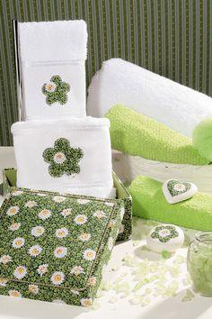 Porta-toalhas com forração / DIY, Craft, Upcycle