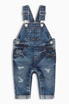 Buy Newborn Boys Unisex newborn Dungarees Outfits Sets from the Next UK online shop Toddler Boy Jeans, Baby Jeans, Toddler Boys, Denim Dungarees Outfit, Denim Fashion, Boy Fashion, Jean Overall Outfits, Baby Boy Outfits, Kids Outfits