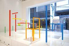 "Yoichi Yamamoto x Issey Miyake ""CH-AIR-S"" Installation Via Hypebeast"